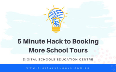 5 Minute Hack to Book More School Tours